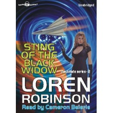 STING OF THE BLACK WIDOW, by Loren Robinson, (Checkmate Series, Book 2), Read by Cameron Beierle