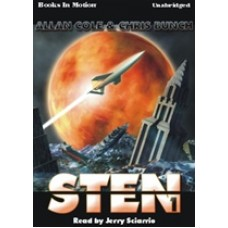STEN, by Allan Cole and Chris Bunch, (Sten Series, Book 1), Read by Jerry Sciarrio