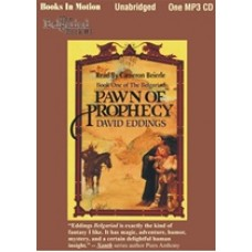 PAWN OF PROPHECY, by David Eddings, (The Belgariad Series, Book 1), Read by Cameron Beierle
