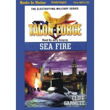 TALON FORCE: SEA FIRE, by Cliff Garnett, (Talon Force Series, Book 10), Read by Jerry Sciarrio