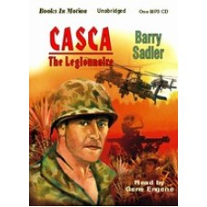 CASCA: THE LEGIONNAIRE, by Barry Sadler, (Casca Series, Book 11), Read by Gene Engene