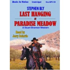 LAST HANGING AT PARADISE MEADOW by Stephen Bly, (Stuart Brannon Series, Book 3), Read by Jerry Sciarrio