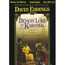 DEMON LORD OF KARANDA, by David Eddings, (The Malloreon Series, Book 3), Read by Cameron Beierle