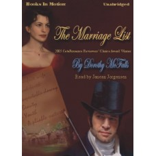 THE MARRIAGE LIST, by Dorothy McFalls, Read by Janean Jorgensen