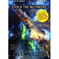 STEN AND THE MUTINEERS by Allan Cole, Read by Jerry Sciarrio