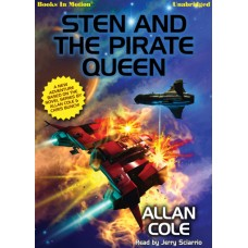 STEN AND THE PIRATE QUEEN by Allan Cole, Read by Jerry Sciarrio