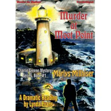 MURDER AT MOOT POINT by Marlys Millhiser (Charlie Greene Mystery Series, Book 1), Read by Lynda Evans